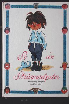 Hansgeorg Stengel Karl Schrader SO EIN STRUWWELPETER DDR Kinderbuch um 1970