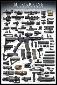 Accesorios del M4