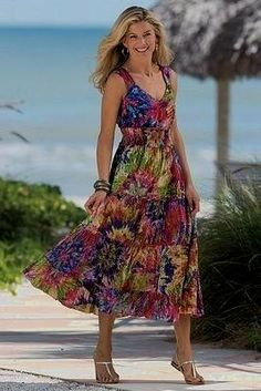 e4b768184f4 Pretty sundress - Fashion tips for Women Over 50. (as for me.