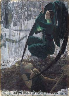 Musée d'Orsay : une expo pour tous les goûts et les âges, l'Ange du bizarre, le romantisme noir ; an exhibition for all tastes and all ages, the Angel of the odd, dark romantism