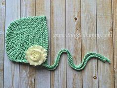 Crochet newborn bonnet to make this cute crochet baby bonnet you free crochet pattern ribbed baby bonnet make it crochet dt1010fo