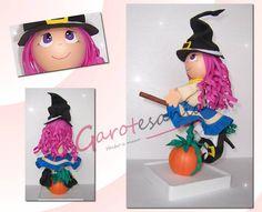 Fofucha Bruja Halloween www.facebook.com/garotesania