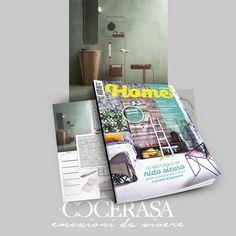 Home - Aprile 2018 #press #magazine #advertising #cerasa #bathroom #design #interiordesign #arredobagno #arredamento #home
