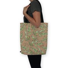 Bolsa Natural Leaves de @jurumple | Colab55