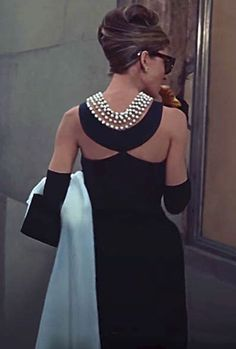Audrey Hepburn wearing Givenchy for 'Breakfast at Tiffany's'