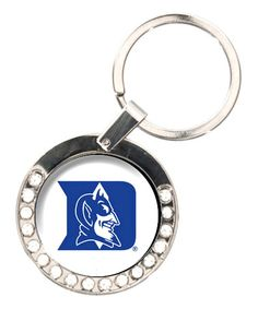 Love this Duke Blue Devils Rhinestone Key Chain by Great American Products on #zulily! #zulilyfinds $8
