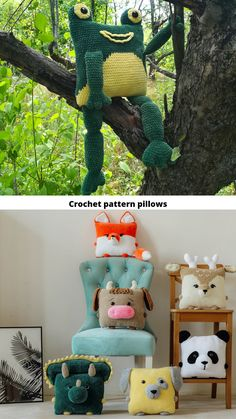 Crochet Frog, Crochet Animal Amigurumi, Easter Crochet, Amigurumi Toys, Cute Crochet, Crochet For Kids, Amigurumi Patterns, Crochet Ideas, Newborn Crochet Patterns