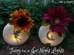How to Craft Fairy Jar Night Lights