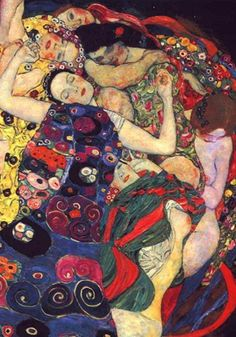 Gustav Klimt: The Virgin, 1913. Narodni Galerie, Prague — com Milla LG.