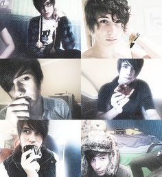 I literally can't even handle him anymore dear God. Dan Howell <3 #danisnotonfire Say something nice at my funeral, lol.