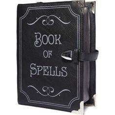 Current Mood Book Of Spells Satchel ($48) ❤ liked on Polyvore featuring bags, handbags, zipper handbags, satchel bag, flap bag, satchel hand bags and zipper purse