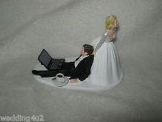 Hochzeitskuchen Figur