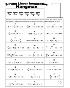 Worksheet Multi Step Inequalities Worksheet math a concept and videos on pinterest the best of teacher entrepreneurs free lesson hangman solve multi step inequalities infographics