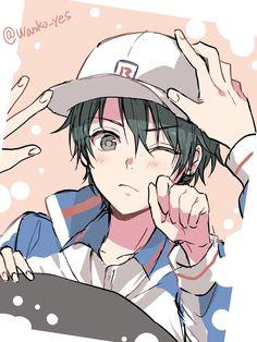 Cute Anime Pics, Anime Love, Prince Of Tennis Anime, Cartoon Kunst, Comedy Anime, Hot Anime Guys, Kawaii Anime, Anime Characters, Anime Art