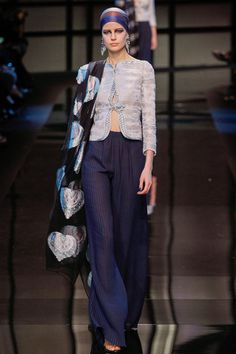 Armani Privé Spring 2014 Couture Collection on Style.com: Runway Review