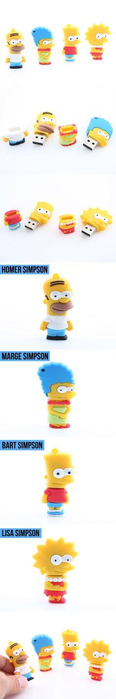 Los Simpsons #USB Drive II http://www.stgift.net/24-all-usb-flash-drive-products