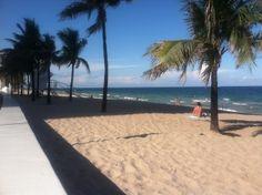 A1A beach...I love sitting on the seawall:)