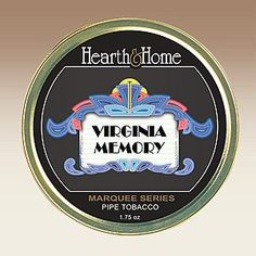 Hearth & Home Virginia Memory is the first true flake in the Marquee Series. Flue-cured tobaccos from two continents are rolled, then pressed and sliced. There's a remarkable natural sweetness, and the flavor profile is the traditional hay and grass notes that one would expect from premium flue-cured tobaccos.
