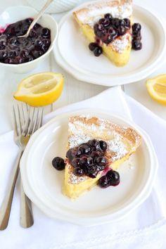 Lemon Cake Pie
