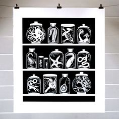 Curiosity Cabinet print, 79,00 Eur at the Otherist