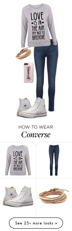 """Untitled #1200"" by crystalrose-014 on Polyvore featuring Converse, Chan Luu and plus size clothing"