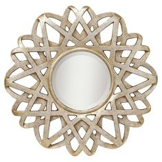 I pinned this Kichler Mirror from the Lovely Living Room Accents event at Joss and Main!
