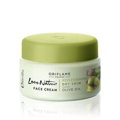 Pleťový krém s olivovým olejem Love Nature