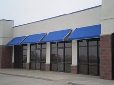 Commercial Canvas Awnings Sunbrella Fabric Tig Welded Aluminum Awning