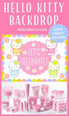aeea966516 90 Best Hello Kitty Party Ideas images