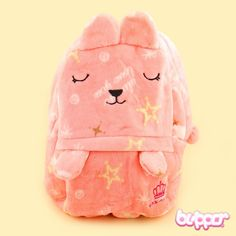 Pastel Bunny Backpack - Pink
