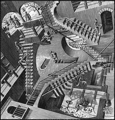 the genius of mc escher essay Is that tessellation art escher style or alhambra the two kinds of tessellation art tessellations can be divided into two groups: those which are pictures of.