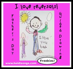 Heidisongs Resource: Father's Day Guided Drawing Freebie!