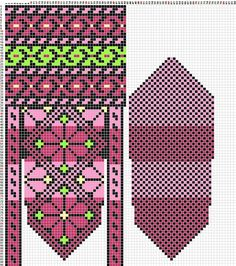 Schemes of mittens: 14 thousand images found in Yandex. Knitted Mittens Pattern, Knit Mittens, Knitting Socks, Mitten Gloves, Knitting Needles, Hand Knitting, Knitted Hats, Filet Crochet, Knit Crochet
