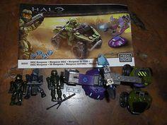 Mega Blocks Halo set 96849 UNSC Mongoose w extra figure on eBay!