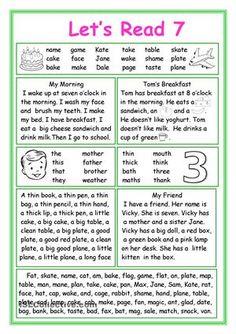 Let's Read 7