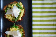 Yum! Baked Hashbrown Potato Nests
