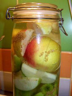 Мочёные яблоки по-быстрому