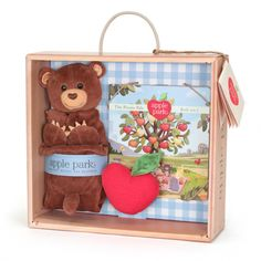 Cubby Blankie, Book & Rattle Gift Crate