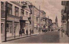 Ulica Lipowa. 1943 r. (źródło: www.szukamypolski.com) Places, Benz, History, Fotografia, Lugares