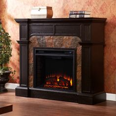 Found it at Wayfair Lakeland TV Stand with Electric Fireplace