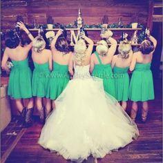 À nos mariages!