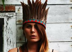 Contemporary Tribal Headdresses - Feather Children Headpieces are Uniquely Handcrafted (GALLERY)