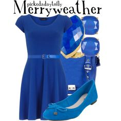 """Merryweather"" by pickedadaytofly on Polyvore"