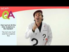 Q&A - Can I put Air Dry Clay sculptures in the Garden?   TV   MontMarte International Pty Ltd