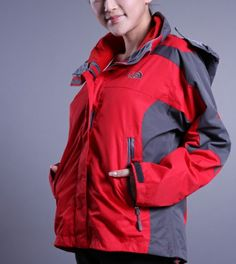 5a4677dd83 Women North Face free-tax Softshell Hybird Jacket Red North Face Sale, The  North