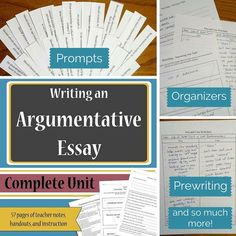 mla argumentative essay outline