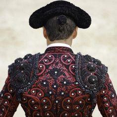 Traje de torero detalle - España