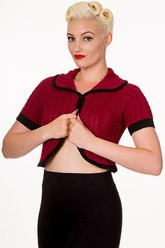 Banned Knitted Bolero at Audrey Star's Boutique