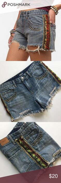 Shorts Clothing, Shoes & Accessories Supply Bdg Mid Rise Freja Vintage Fit Jean Cutoff Shorts Size 27 Euc Discounts Price