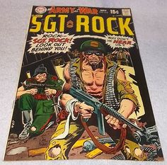 DC Comic Our Army at War with Sgt Rock No 212 VF Kubert Art.......12.95